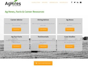 AgHires Ag News and Tools